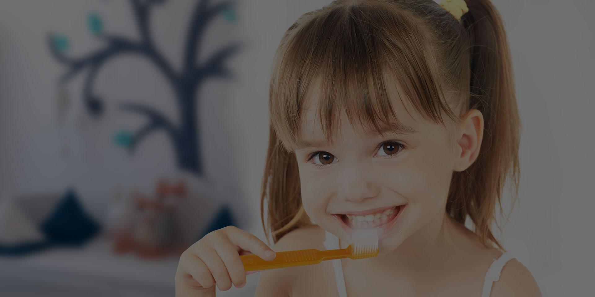 szczoteczki jednorazowe dla dzieci do fluoryzacji